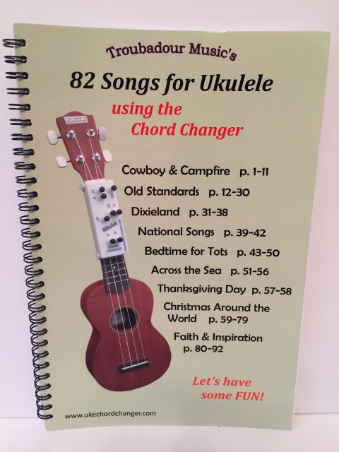 Bulk Orders Of The Ukulele Chord Changer And Songbook Set 20 Sets
